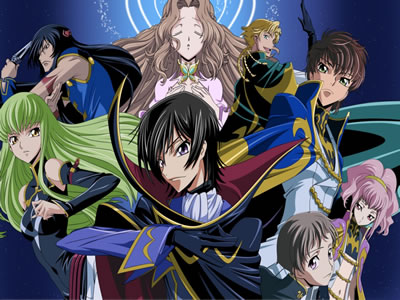 Code Geass R2 - Personagens principais e novatos